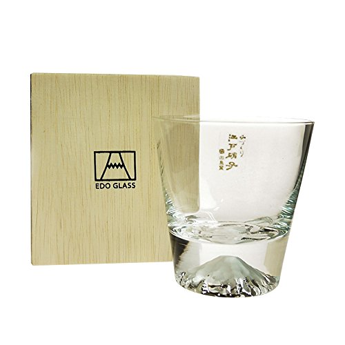 Fuji Glass Fujisan Glass Rock Glass TG15-015-R