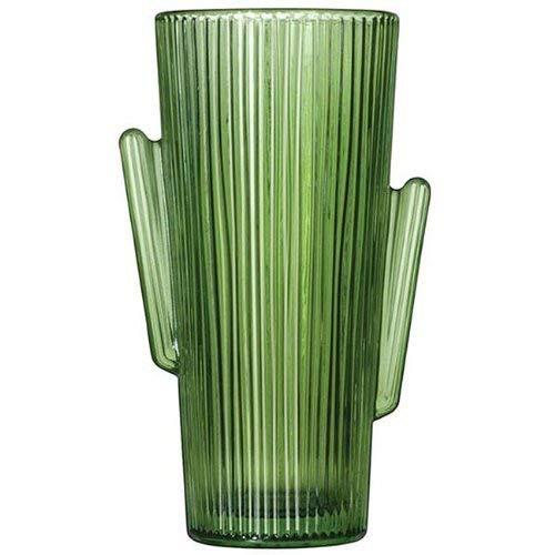 Libbey Glass Cactus Western Style Cactus 16 oz. Tumbler Glasses - Set of 4