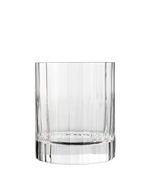 Luigi Bormioli Bach Double Old Fashioned Glass, 11-1/4-Ounce, Set of 6