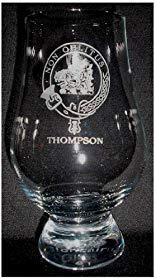 CLAN THOMPSON GLENCAIRN SINGLE MALT SCOTCH WHISKY TASTING GLASS