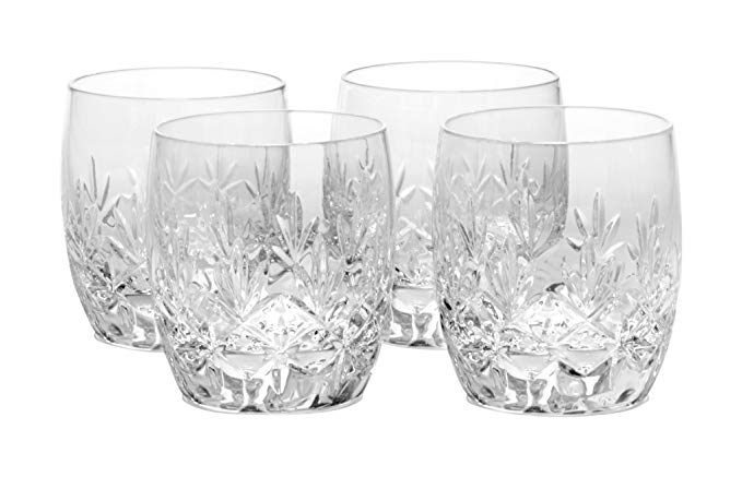 Mikasa Orion Double Old Fashioned Glass, 11.75-Ounce, Set of 4