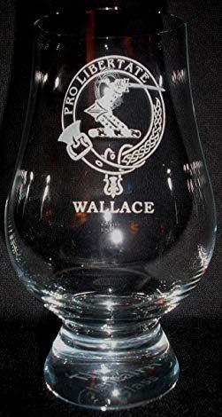 CLAN WALLACE GLENCAIRN SINGLE MALT SCOTCH WHISKY TASTING GLASS